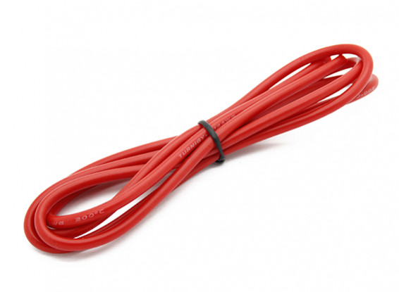 Turnigy haute qualité 14AWG silicone Fil 1m (Rouge)
