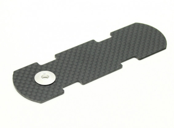 Assault Helicopter 450L Flybarless 3D Carbon Battery Tray