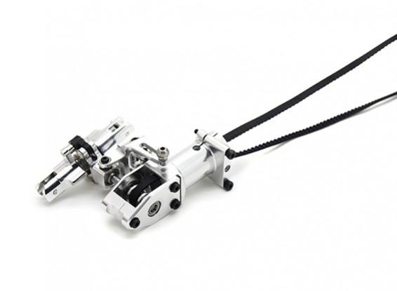 Assault 450DFC Ceinture Flybarless 3D Helicopter rotor de queue Assemblée Boîte de vitesses avec les porteurs de lames