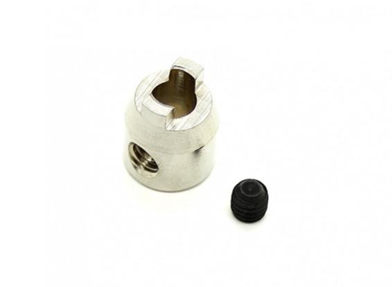 """4,76 mm (3/16 """") en acier inoxydable chien dur"""