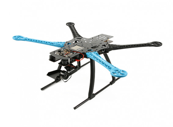 Dead Cat Pro Quadcopter avec Mobius Gimbal (Kit)