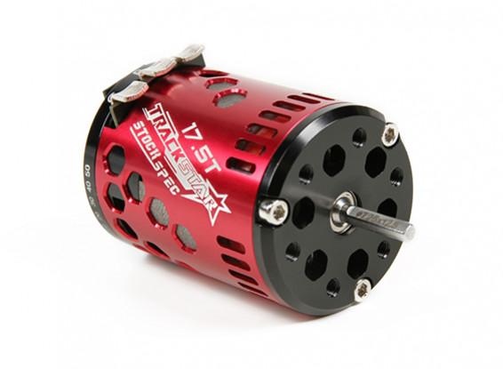 TrackStar 17.5T Stock Spec Sensored moteur Brushless V2 (RAAR approuvé)