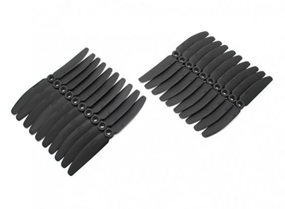 Gemfan 5030 Multirotor CRP Hélices Bulk Pack (10 paires) CW CCW (Noir)