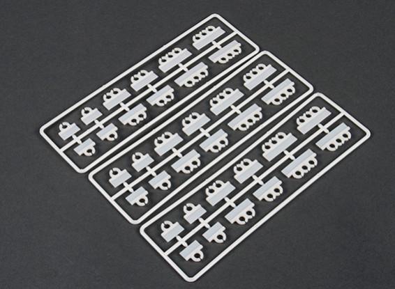 Montage vertical Cable Set Clip Tidy (36 pièces)