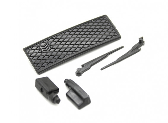 Essuie-glace / Side Mirror / Grill Set - Kit OH35P01 1/35 Rock Crawler