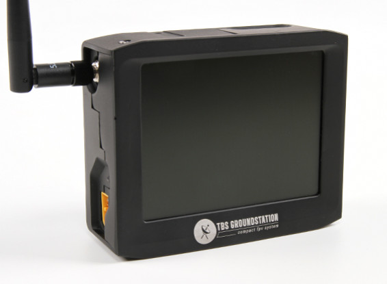 TBS FPV 4 pouces LCD 8Ch Dual Band 2.4GHz GroundStation