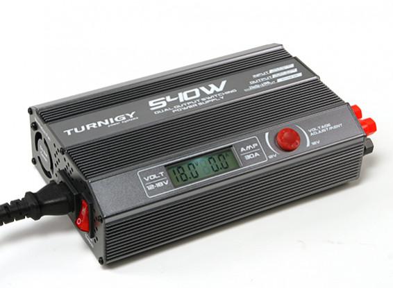 TURNIGY 540W Dual Output Switching Power Supply (US Plug)