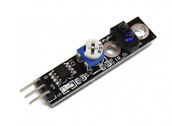 Keyes Voiture intelligente Tracing Noir / Capteur Chasse White Line Pour Arduino