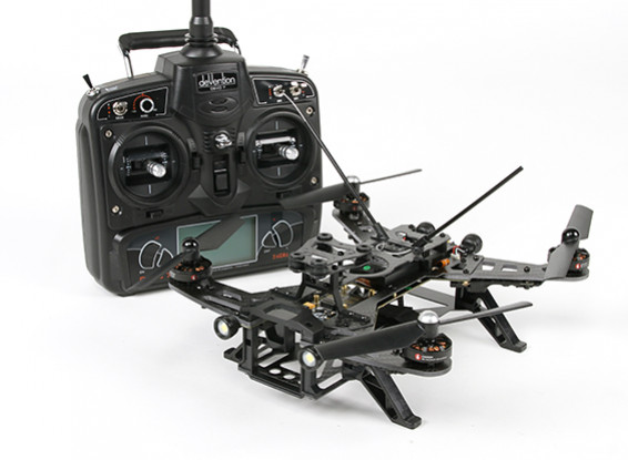 Walkera Runner 250 FPV Racing Quadcopter w / Mode 1 Devo 7 / Batterie / chargeur (RTF)