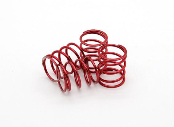 TrackStar Suspension Spring Red 21 x 14mm 3.5KG (4) S129450