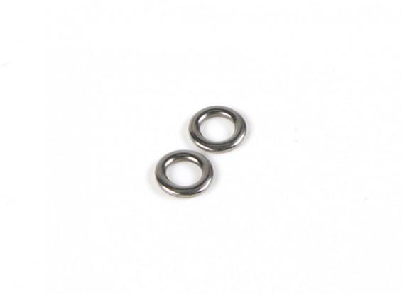 anneau métallique Mainsheet (PK2)