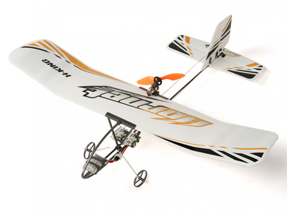 Hornet Micro d'avion RC intérieure w / émetteur (Mode1)