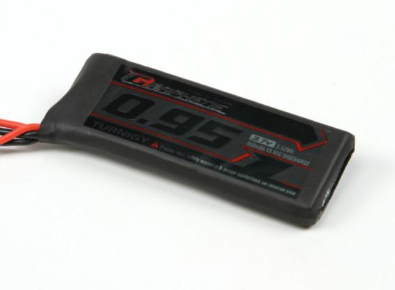 Turnigy graphène 950mAh 1S 65C LiPo pack w / JST-SYP-2P