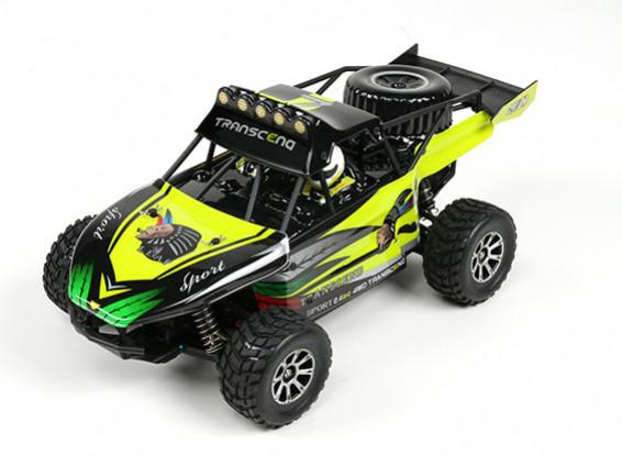WL Toys 1/18 K929 4WD Desert Buggy w / Système radio 2.4GHz (RTR)