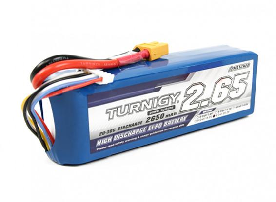 Turnigy 2650mAh 6S 20C Lipo Paquet