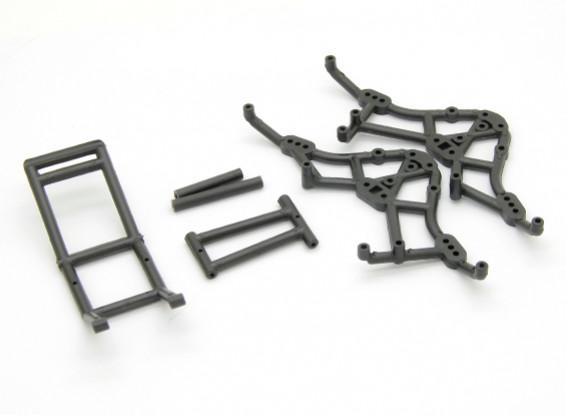 Rouleau Cage - Basher Rocksta 1/24 4WS Mini Rock Crawler