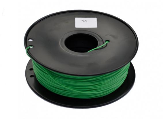 HobbyKing 3D Filament Imprimante 1.75mm PLA 1KG Spool (Vert)