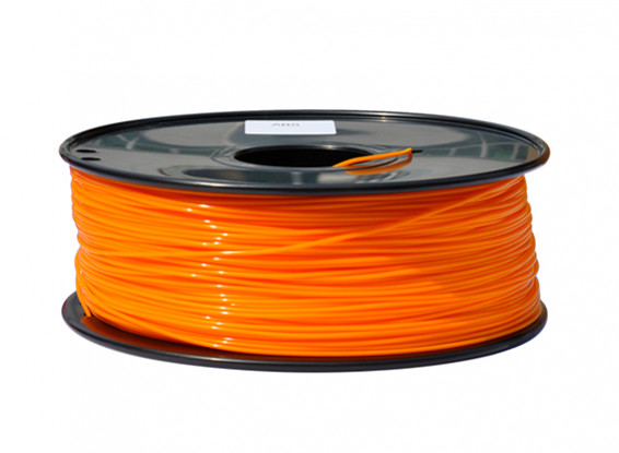 HobbyKing 3D Filament Imprimante 1.75mm PLA 1KG Spool (Orange)