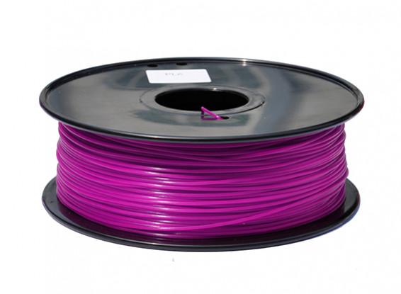 HobbyKing 3D Filament Imprimante 1.75mm PLA 1KG Spool (Violet)