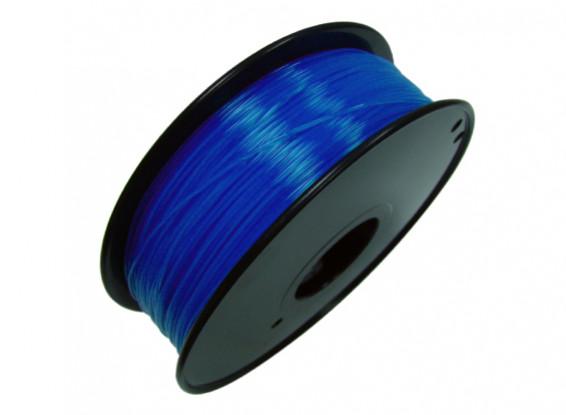 PLA Translucent Blue 1kg 1.75mm HobbyKing