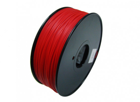 HobbyKing 3D Filament Imprimante 1.75mm HIPS 1.0KG Spool (Solid Red)