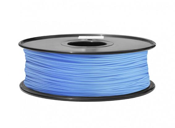 HobbyKing 3D Filament imprimante 1.75mm ABS 1KG Spool (Bleu P291C)