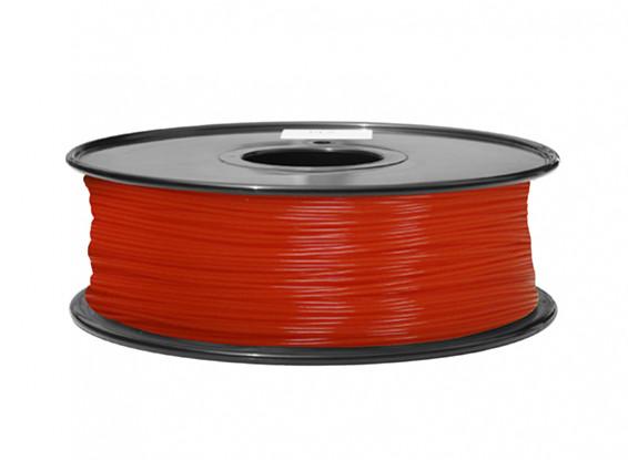 HobbyKing 3D Filament imprimante 1.75mm ABS 1KG Spool (Fluorescent Red)