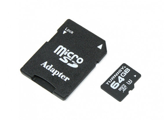 Turnigy 64GB U3 Micro Memory Card SD (1pc)