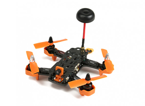 Diatone Tyrant 150 FPV Race Quad - Orange (ARF)