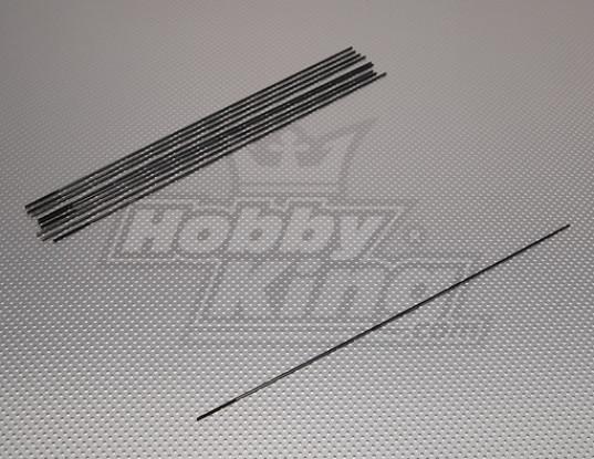 Push métal Rods M2.2xL300 (10pcs / set)