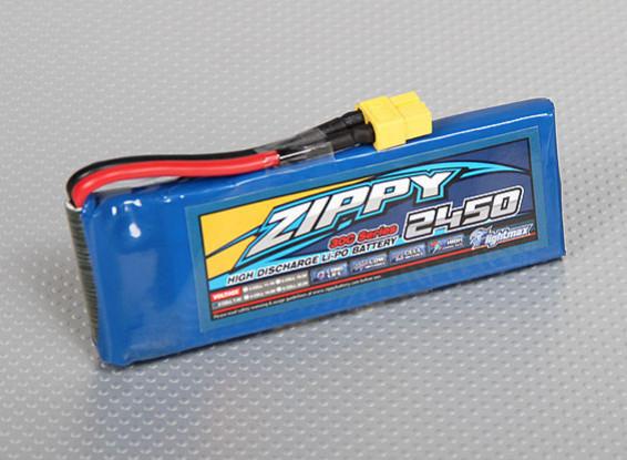 ZIPPY FlightMax 2450mAh 2S1P 30C (USA Entrepôt)
