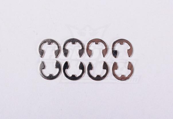 E-ring Dia5 (8pcs / Sac) - A2016