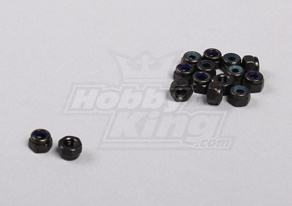 Hex Fastener Nuts M3 (15pcs / sac) - 1/5 4WD Big Monstre