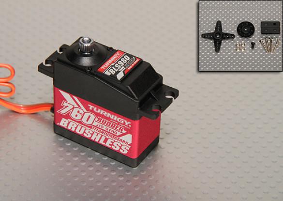 Turnigy BLS980 numérique Brushless Heli Rudder Servo 3,1 kg / .03sec / 58g