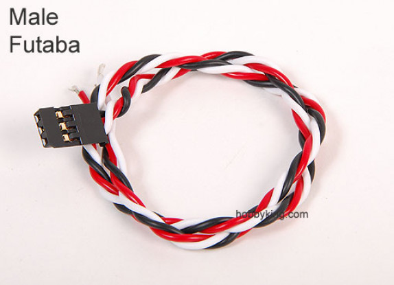 15cm Homme 22AWG Twisted