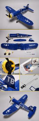 Hobby Roi F4U Corsair Plug-n-Fly