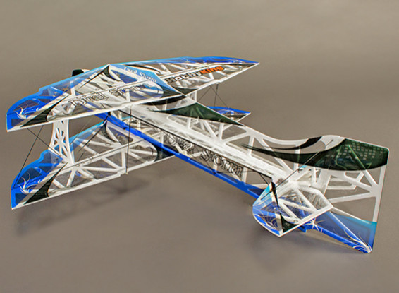 HobbyKing double tempête F3P Ultralite EPS Indoor 3D Biplan w / 850mm moteur (KIT)