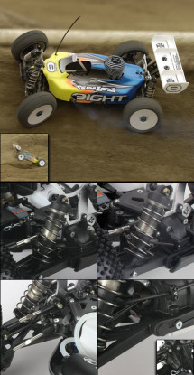 1/8 8IGHT 2.0 4WD Buggy Race Rouleau