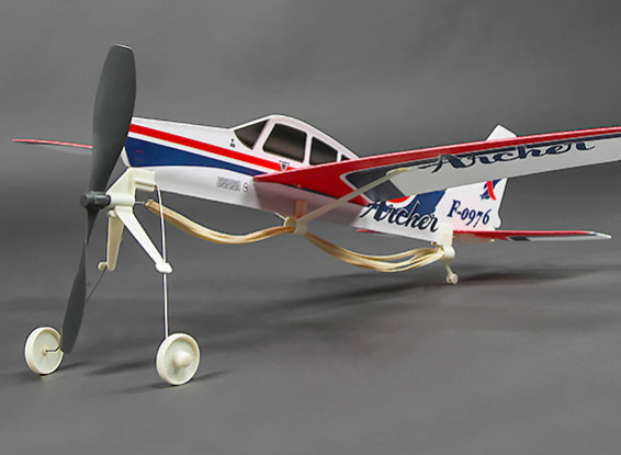 Freeflight caoutchouc Propulsé Piper Cherokee Archer PA-28-181 480mm