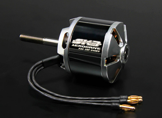 F3A SK3 Series 28 Pole Outrunner (6061-240kv 2700W)