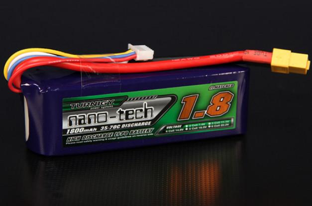 Turnigy nano-tech 1800mah 4S 35 ~ 70C Lipo Paquet