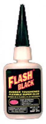 PSN 341 flash en caoutchouc noir 1 oz CA