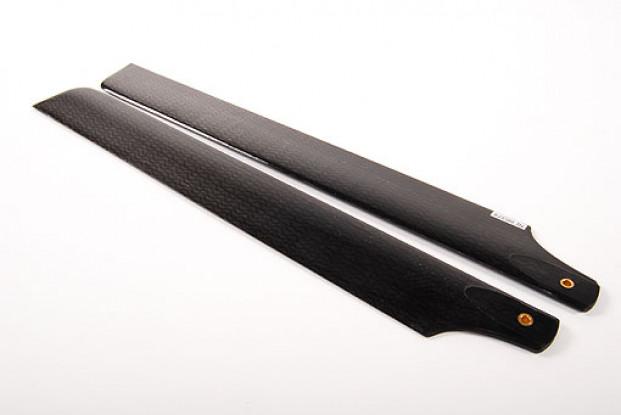 288mm en fibre de carbone principal Lames