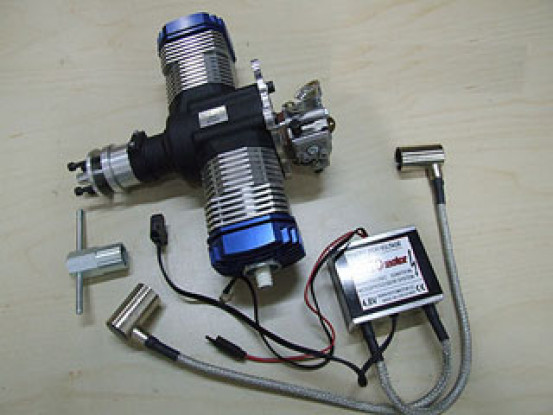 moteur RotorMotor 50V2 Essence / Gaz w / Elec Ignition
