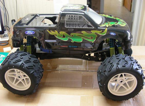 SCRATCH / DENT - Smartech Toys Tornado F150 1: 6 4WD Nitro RTR Truck RC (UA Entrepôt)