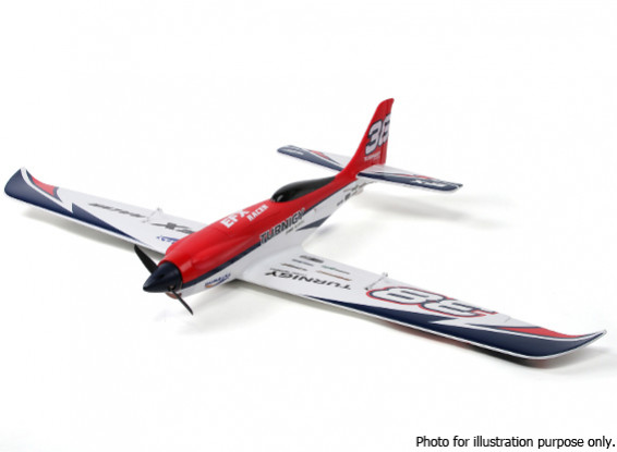 SCRATCH / DENT - Durafly ™ EFX Racer Haute Performance Sports Modèle (PNF) - Red Edition