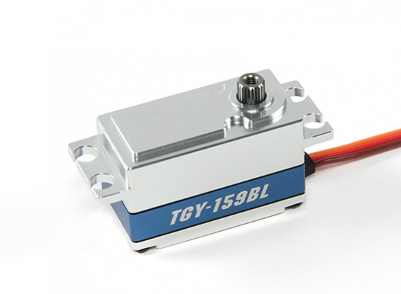 SCRATCH / DENT - Turnigy GTY-159BL Métal numérique Cased High Torque Low Profile Brushless Voiture Servo 55g