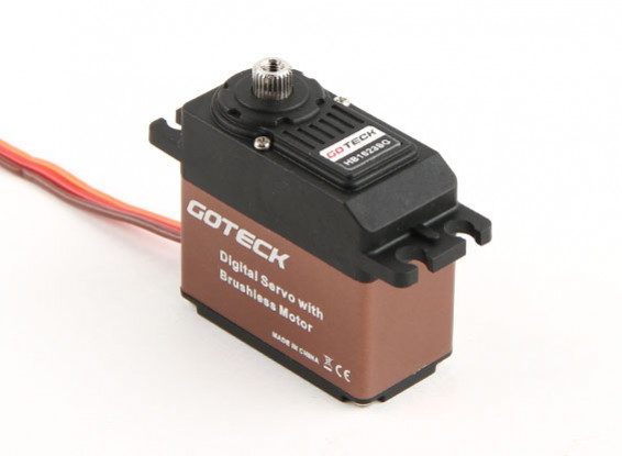 SCRATCH / DENT - Goteck HB1623S HV numérique Brushless MG High Torque STD Servo 53g / 16 kg / 0.10sec