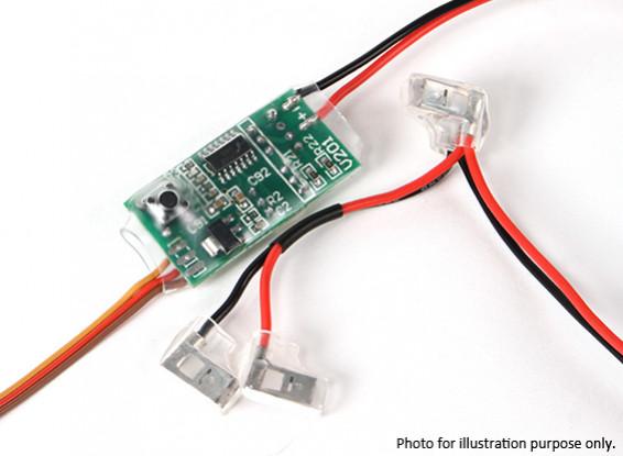 SCRATCH / DENT - Télécommande 3ème sélecteur de canal kills pour les moteurs à gaz