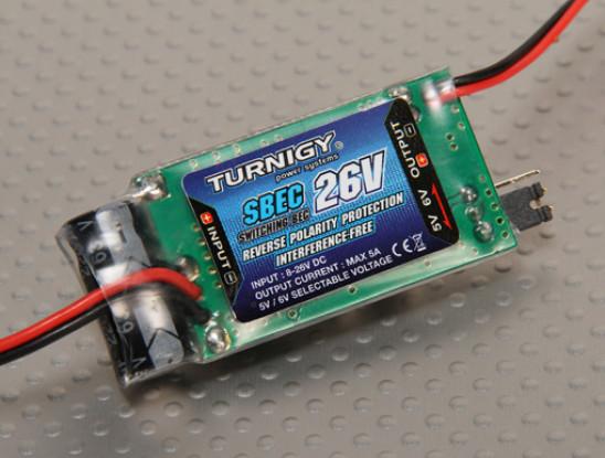 Turnigy 5A (8-26v) SBEC pour Lipo